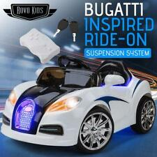 Bugatti Style Kids Ride-On Electric Car -Battery Children Sports Built-in Songs