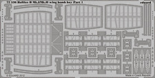 EDUARD 72536 Wing Bomb Bay for Revell® Kit Halifax B Mk.I / Mk.II in 1:72