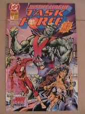 Justice League Taskforce #1 DC Comics 1993 Nightwing 9.2 Near Mint-