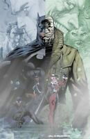 BATMAN #608 JIM LEE LIMITED EDITION FOIL VARIANT HUSH HARLEY CATWOMAN DC COMICS