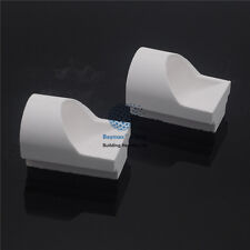 2Pcs Dental Lab Hooded Casting Quartz Crucibles New Brand
