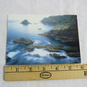 Post Card Washington Coast as viewed from Cape Flattery NEW Old Stock