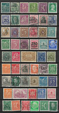 GERMANY 1872-1932 ERA STAMP COLLECTION PACKET of 50 DIFFERENT Stamps