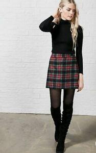 ASOS Pablo Tartan Skirt Hearts & Bowes Womens Check Skirt Multi  UK 8 A331-22