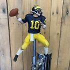 Michigan Wolverines Football Beer Keg Tap Handle Tom Brady NCAA College