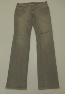 Mis Tagged American Eagle Womens Size 2/4 Skinny 77 Grey Jeans Great Condition