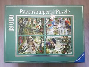 18000 piece puzzle, 'Tropical Impressions' -  Ravensburger - 2003 - Very Rare !!
