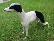 ELITE POTTERY WHIPPET DOG FIGURE EXCELLENT CONDITION LOVELY COLOURWAY