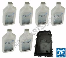 For BMW E60 E63 E65 E66 Auto Trans Filter Kit 6 Liters ZF ATF Fluid OEM GA6HP26Z