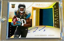 🔥2014 Immaculate ALLEN ROBINSON Rookie JUMBO Premium Patches AUTO #1/10! RC