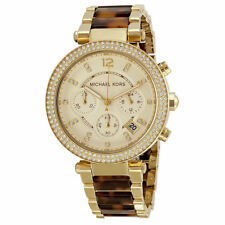 Michael Kors MK5688 Parker Chronograph Tortoiseshell Ladies Wrist Watch