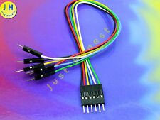 Pickit 3 cable cable enchufe conector 6 polos breadboard adaptador PIC MCU #a1432