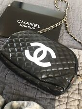 Chanel VIP cosmetic/beauty bag With Chain