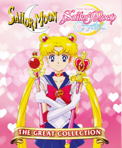 DVD Anime Sailor Moon Complete Collection Season 1-6 + 3 Movies