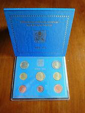 Vatikan 2012 KMS Stempelglanz (1 Cent - 2 Euro) Kursmünzensatz Papst Benedikt.