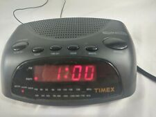 Timex Alarm Clock Radio With Nature Sounds T234B  Electric and Battery Operated