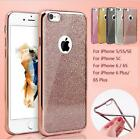 New Bling Silicone Glitter ShockProof Case Cover For Apple iPhone 6 6S 7 Plus SE