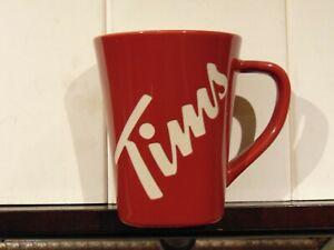 Tim Hortons Coffee Mug Canada 150 Anniversary Red White Ceramic Limited Ed Gift