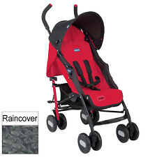 NEW CHICCO GARNET ECHO PUSHCHAIR UMBRELLA STROLLER BABY BUGGY WITH RAINCOVER