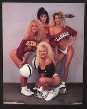~ 086 College Football SEXY BIKINI Girls ~ Vintage Poster / Print 16 x 20