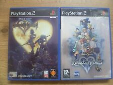 Kingdom Hearts 1 & 2 Game Bundle PS2 Tested + Complete With Manuals Playstation2