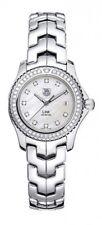 WJ131A.BA0572 Tag Heuer Link Ladies Diamond Pearl Quartz Stunning Watch and Box