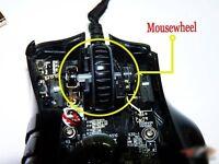 Razer Naga/naga Hex/2012/ Molten/Imperator Mouse pulley/scroll Wheel/Mousewheel