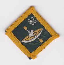 1967 UK SCOUTS - DIAMOND SHAPE SCOUT INSTRUCTOR PROFICIENCY BADGE - CANOEIST