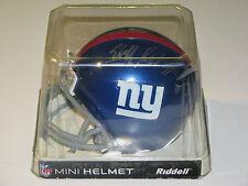 New York Giants Autographed Mini Football Helmet