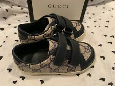 GUCCI Baby Toddler Ace GG Supreme Sneaker with Web Size 22