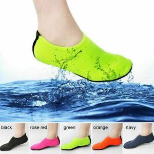 2021 Womens Men Aqua Water Shoes Swim Surf Yoga Sports Beach Exercise Skin Socks