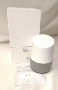 (CRD) Google Home Hands-Free Voice Commands Assistant Smart Speaker White