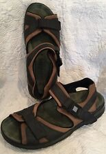 MEPHISTO Men's Leather Hiking Sandals * Size 46 US 13