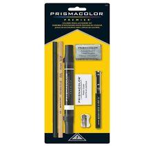 Prismacolor Premier Colored Pencil Accessory Set Kit- 7 Piece Eraser Blender Etc