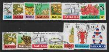 More details for bahamas sg460/73 1976-9 definitive set used