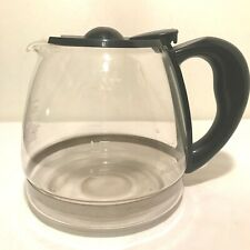Black & Decker Replacement Glass Coffee Pot Decanter Carafe 12 Cups Black
