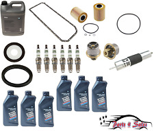 Coolant/Gasket/Rear seal/Spark plugs/Oil filter/thermostat/oring/fuel filter/oil
