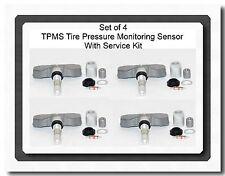 4 Kits Tire Pressure Monitoring System Sensor Fits:Chevrolet Volt SAAB 9-4 9-5