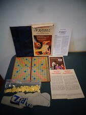 SCRABBLE POCKET EDITION CROSSWORD GAME #27 SELCHOW & RIGHTER 1978 COMPLETE