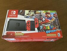Nintendo Switch Super Mario Odyssey Bundle Box And Inserts Only. No Console