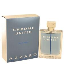Parfum Eau de toilette Homme AZZARO Chrome United 100ML EDT Men Vapo Spray