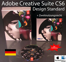 Adobe Creative Suite cs6 DESIGN BOX standard + CD 2 MAC Versione Completa (Bundle)