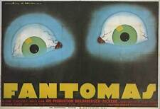 FANTOMAS Movie POSTER 11x17 French