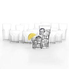 Gibraltar 16-Piece Drinkware Set - Glass, Eight 16 Oz, Eight 12 Oz, Made in USA