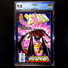 X-MEN #53 (1996) 🔥 1st Full Appearance of ONSLAUGHT 🔥 CGC 9.8 - WHITE Pages