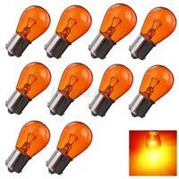 10x PY21W BA15S Amber/Orange Indicator Turn Signal Bayonet Car Light Bulbs  R