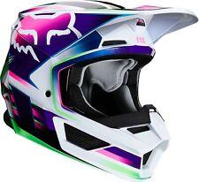 2020 Fox Racing Youth V1 Gama Helmet - Motocross Dirtbike Offroad Youth