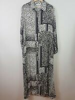 [ LABEL OF LOVE ] Womens Relaxed Boho Print Dress | Size XL or 16 / US 12