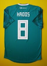 Kroos Germany shirt  Player Issue jersey Authentic 2018 AWAY Adidas IG93