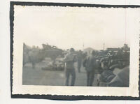 WWII 1940s US Army soldier's Photo lots of Army trucks & vehicles